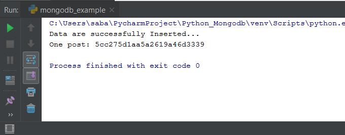 Python MongoDB Connection