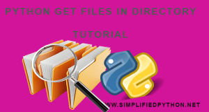 Python Get Files In Directory