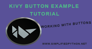 Kivy Button Example Tutorial