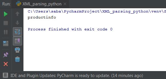 XML Parsing In Python