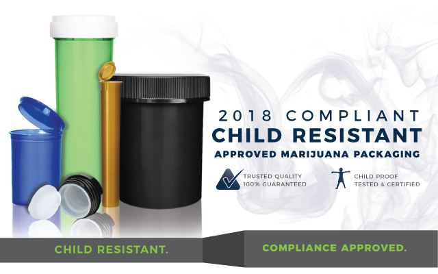 transition child resistant packaging