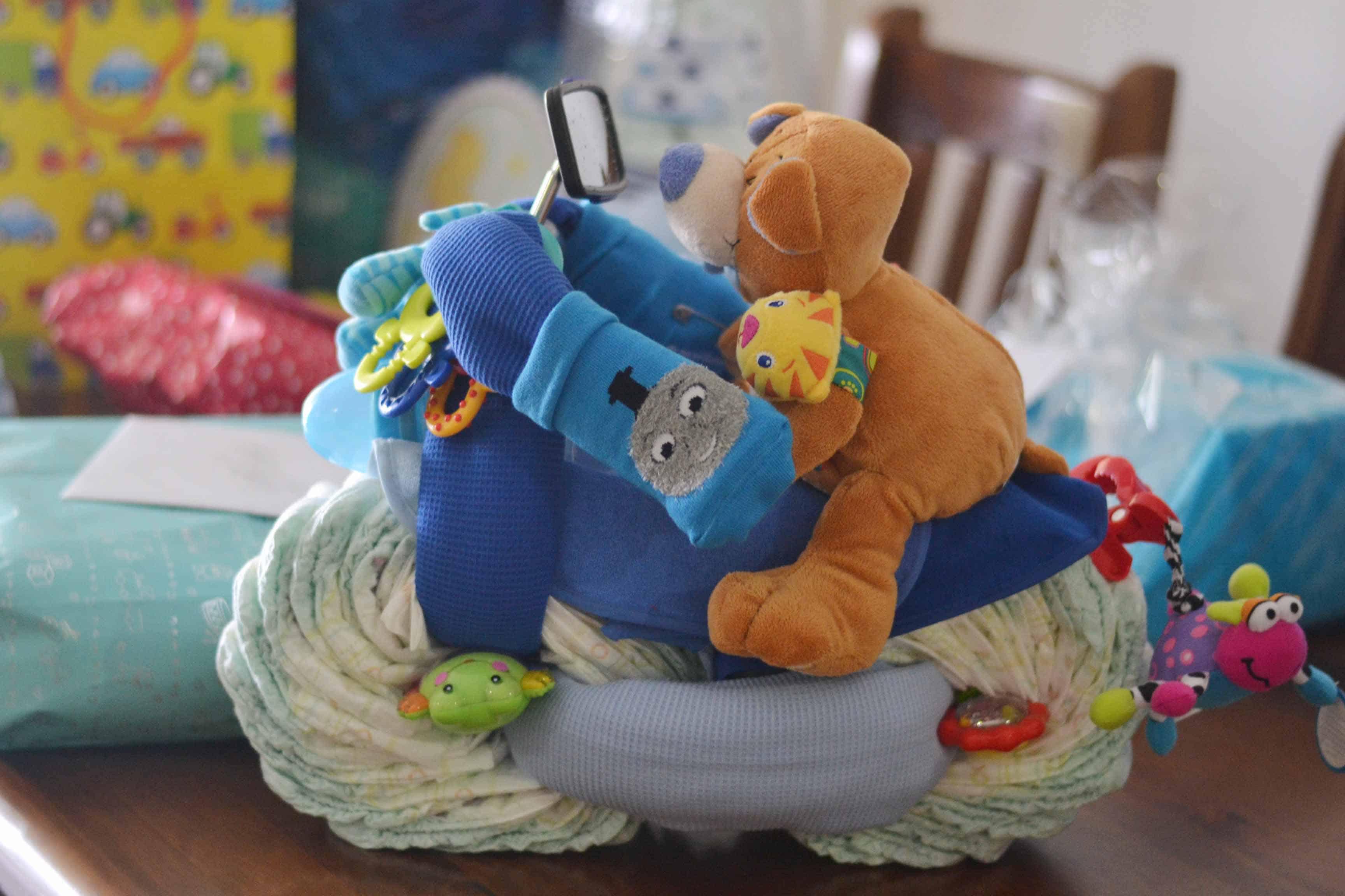 Blue & White Baby Shower Simplify Create Inspire