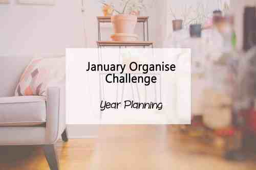 Simplify my life challenge year planning