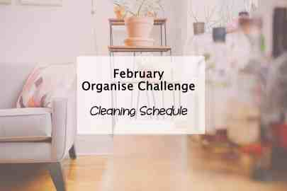Simplify My Life organise cleaning schedule
