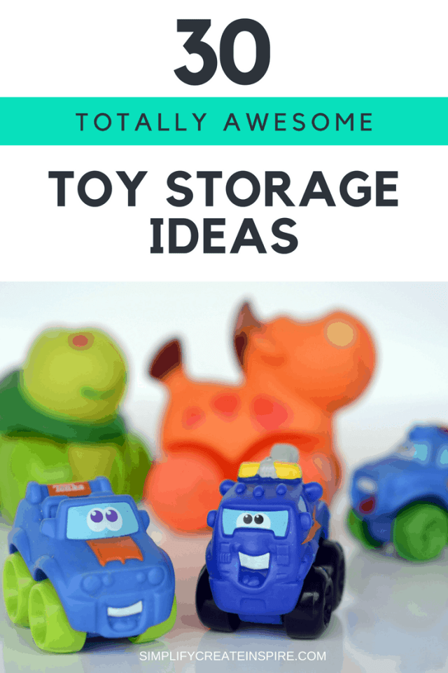 Totally awesome Toy Storage Ideas