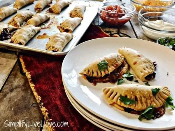 Make Ahead Appetizer Recipe - Baked Taco Empanadas ...