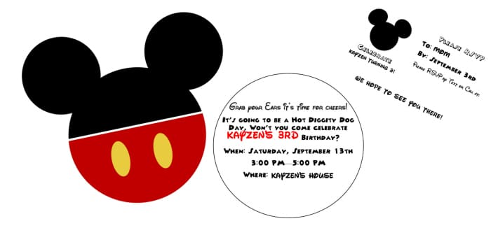 diy mickey mouse clubhouse party