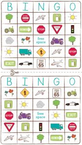 Backseat Bingo, Travel Printables, and Camp Kiwi Printable Magazine!