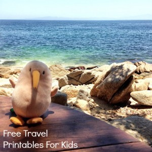 Backseat Bingo, Travel Printables, and Camp Kiwi Printable Magazine!