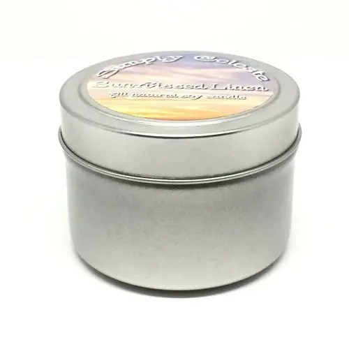 4 ounce sample tin 100% Soy Wax Candle