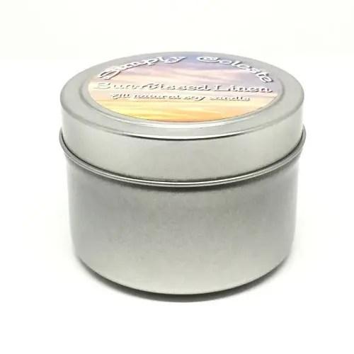 4 ounce sample tin 100% Soy Wax Candle