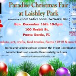 Paradise Christmas Fair at Laishley Park