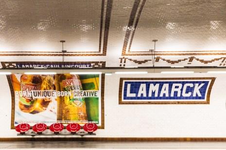 Metro Paris Lamarck