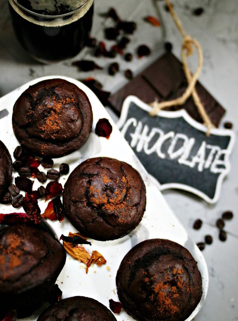 Dvostruko čokoladni mafini