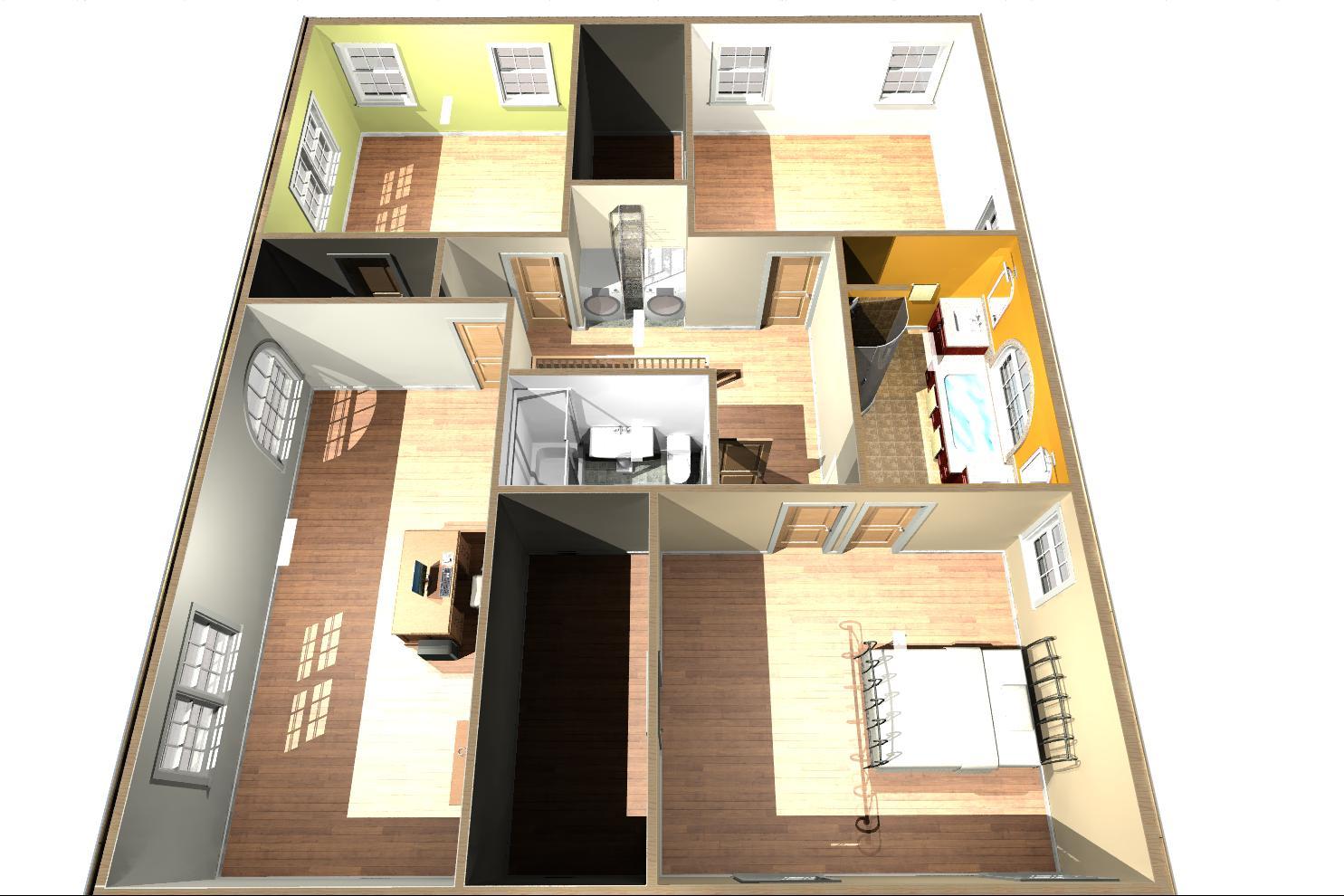 Home Addition Plans Master Bath