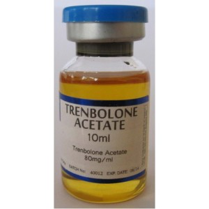 a picture of a 10ml vial of trenbolone acetate