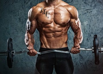a picture of a man with low bodyfat levels that has used Cardarine