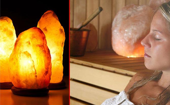 Himalayan Salt Lamp - Natural Air Purifier - Simply and Naturally