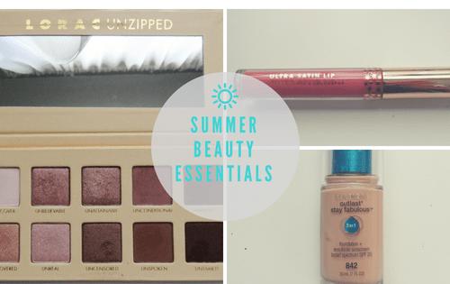Summer Beauty Essentials 2018
