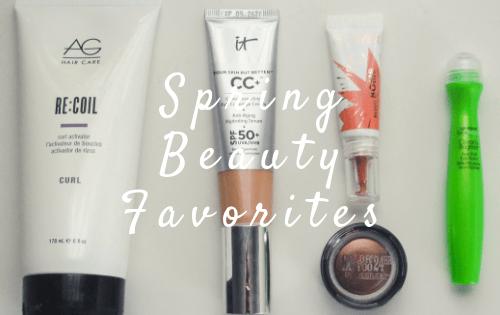 Spring Beauty Favorites