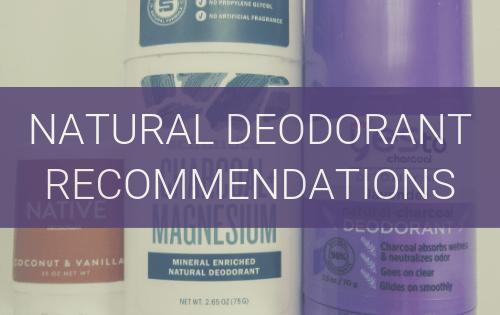 natural deodorant recommendations