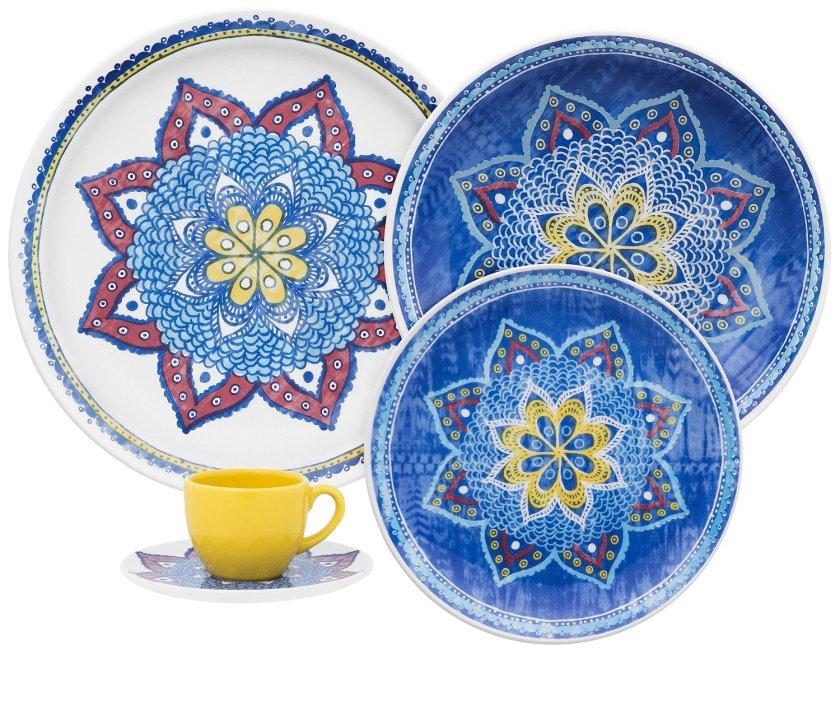 cobalt blue dinnerware sets