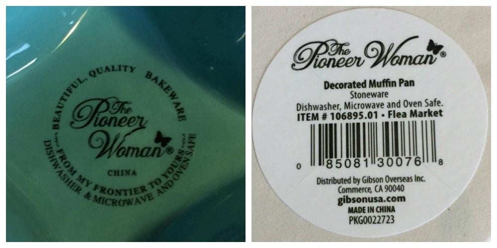 Pioneer Woman Flea Market Muffin Pan