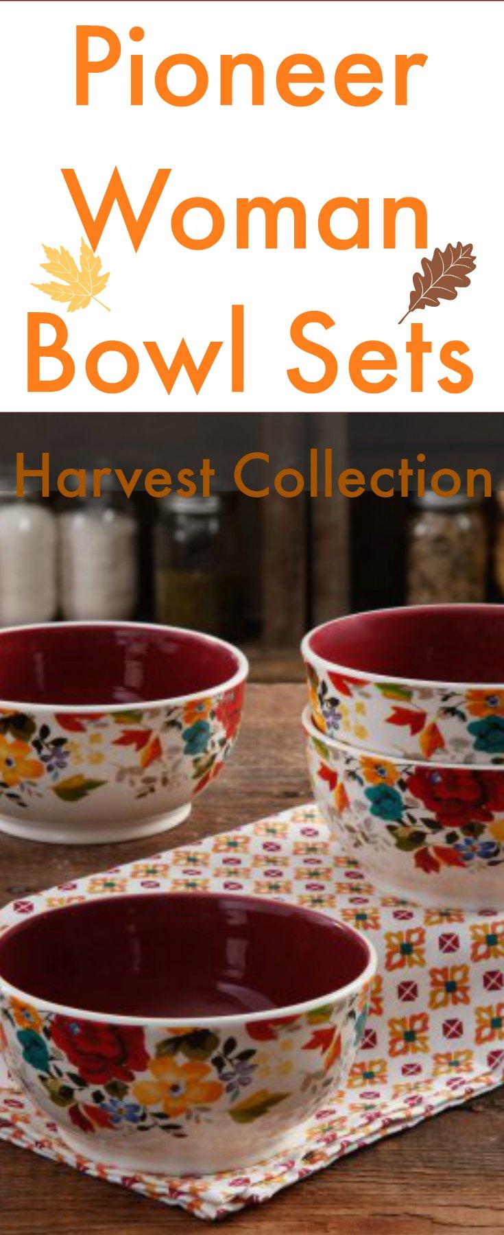 The Pioneer Woman Bowl Set