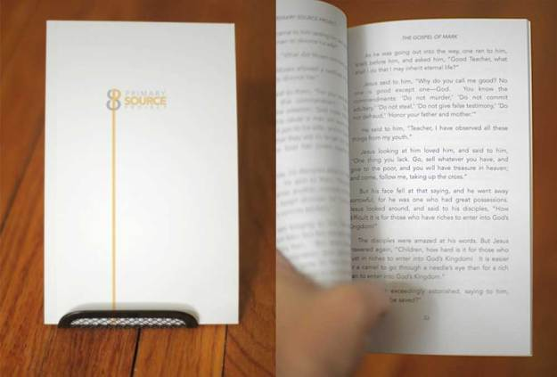 This book is a reader friendly version of the gospel of Mark. We created this for the Primary Source Project, which is an initiative that aims at getting people to read one of the primary sources (gospels) instead of trusting hearsay and second hand information.