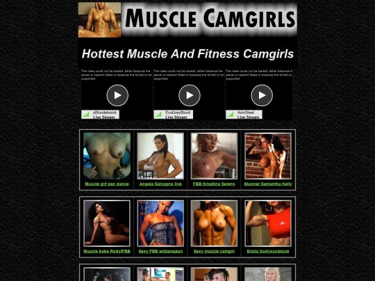 Muscle Camgirls