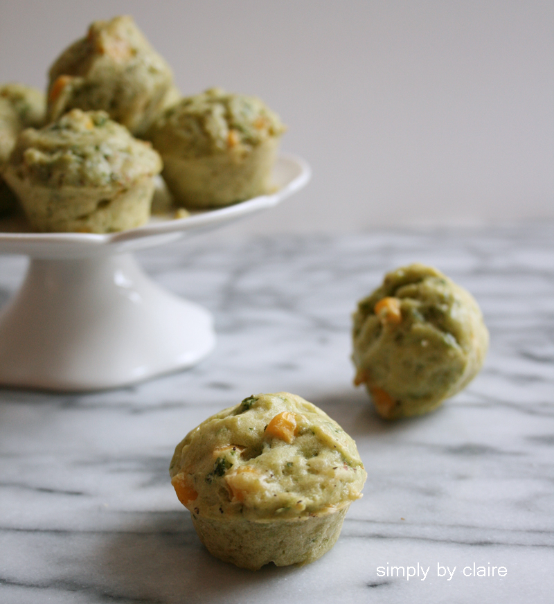savory-corn-muffin-with-leafy-green-vege