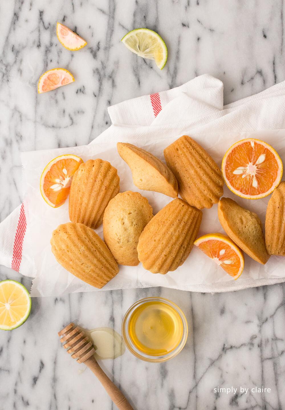 香橙瑪德蓮