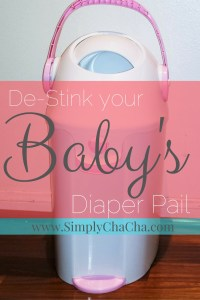 "How-To ""De-Stink"" Your Diaper Pail"