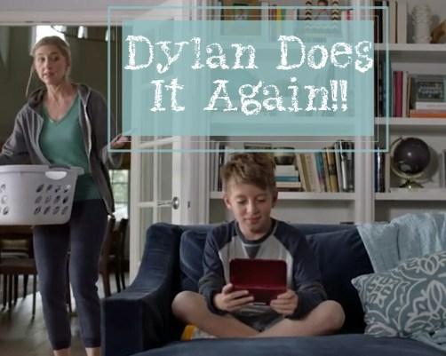Dylan does it again -Dylan Nintendo 3ds Commercial