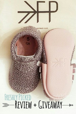 Freshly Picked Moccasins Review and Giiveaway
