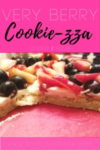 ChaCha's Very Berry Cooki-zza (Cookie Pizza)