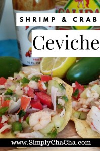 Shrimp & Crab Ceviche Recipe