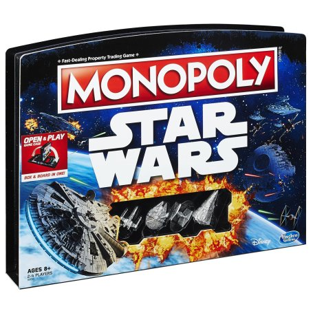 Best gifts for Star Wars fans - Monopoly Game: Star Wars Edition