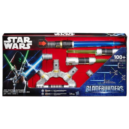 Best Gifts for Star Wars Fans- Star Wars Bladebuilders Jedi Master Lightsaber