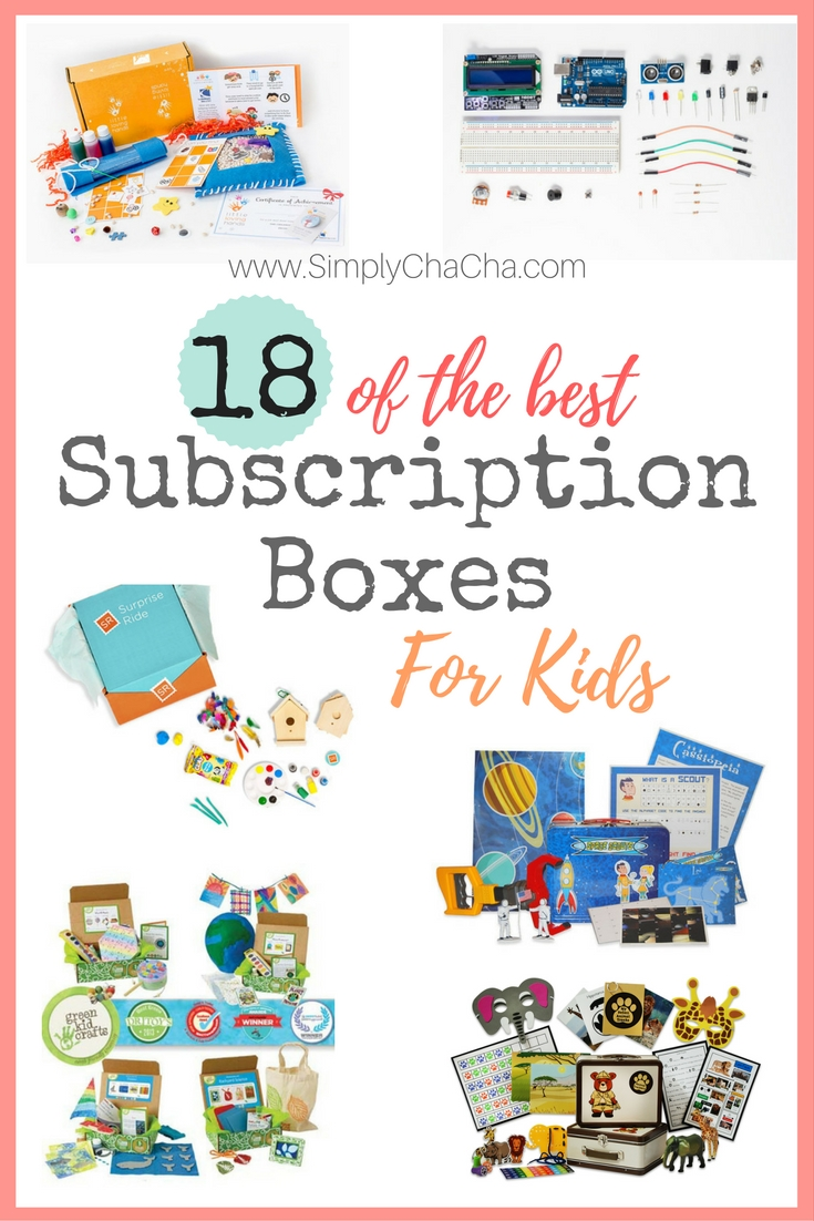 18 of the BEST Subscription Boxes for KIDS! The BEST gifts for any child and ANY occassion