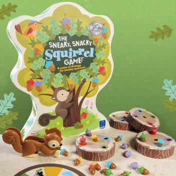 HOLIDAY GIFT GUIDE HOTTEST TOYS AGES 2-4 SNEAKY SNACKY SQUIRREL GAME