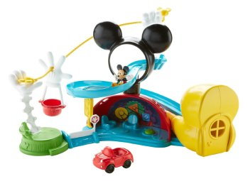HOLIDAY GIFT GUIDE 2016 HOTTEST TOYS AGES 2-4 Fisher-Price - Disney Mickey Mouse Clubhouse – Zip, Slide and Zoom Clubhouse