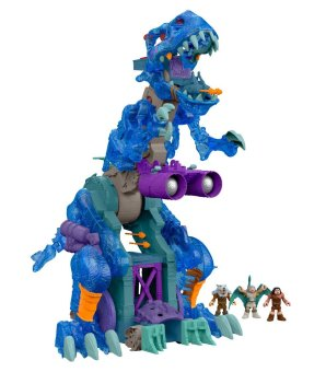 HOLIDAY GIFT GUIDE 2016 HOTTEST TOYS AGES 2-4 Fisher-Price Imaginext Ultra T-Rex - Ice
