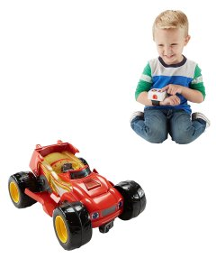 Holiday Gift Guide - Ages 2-4 Nickelodeon Blaze and the Monster Machines Transforming R/C Blaze