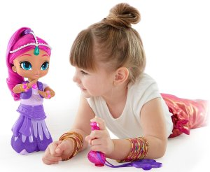 Holiday Gift Guide - Ages 2-4 Shimmer and Shine Wish Spin Shimmer