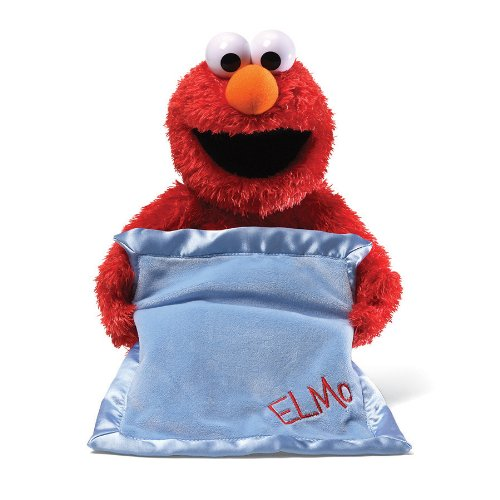 HOLIDAY GIFT GUIDE 2016- HOTTEST TOYS AGES 2-4: Gund Sesame Street Peek-A-Boo Elmo Animated Toy