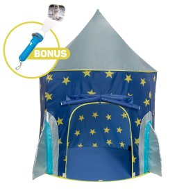 HOLIDAY GIFT GUIDE 2016 HOTTEST TOYS AGES 2-4 Rocket Ship Play Tent - Spaceship Playhouse with Bonus Space Torch Projector Toy