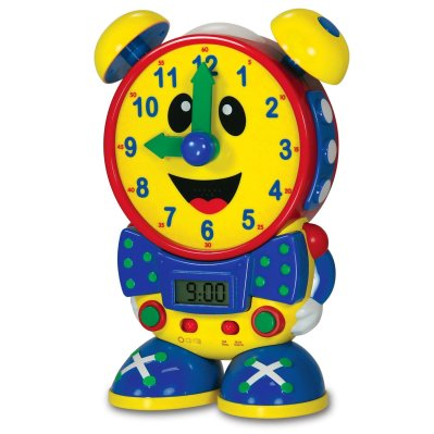 HOLIDAY GIFT GUIDE 2016 HOTTEST TOYS AGES 2-4: Telly The Teaching Time Clock