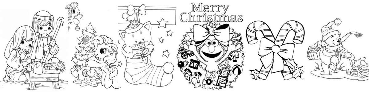 51 of the best Christmas Coloring Book printable pages for kids - Sign up FREE - to access our Freebie Library, then download and print