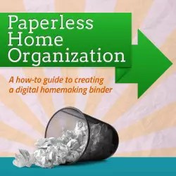 paperless home organization digital